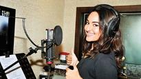 Sonakshi Sinha records her first song for a film!
