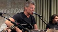 Jon Bon Jovi surprises cancer-stricken fan with guitar, kiss