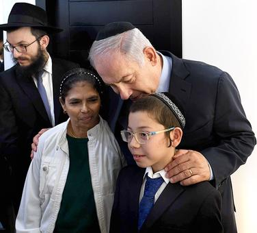 When Moshe and Netanyahu visited Moshe's old home