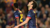 FOOTBALL: Humiliation for Barca stars