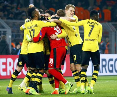 Euro football: Dortmund beat Hertha on penalties in German Cup
