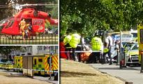 FIRST PICTURE: Boy, 10, killed alongside aunt after car in police chase ploughs into them