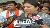 Smriti Irani corners Tharoor over his 'Maharajas' remarks