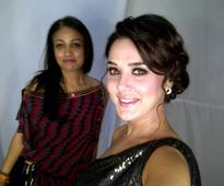 Preity Zinta showstops for Surily Goel at fashion week