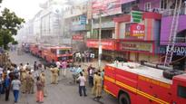 Massive fire at textile godown in T'puram brought under control