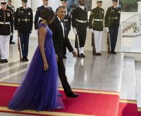 Michelle Obama's state dinner looks are outrageously good