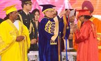 President Of India Attends 7th Convocation Of Vinoba Bhave University