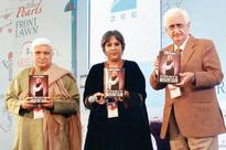 mid-day at JLF: Javed Akhtar, Barkha Dutt launch Salman Khurshid's book