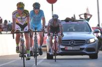 Alberto Contador: Ready to relax after 'pretty hard climb' in Abu Dhabi Tour Stage 3