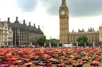 Thousands of life jackets on display in London to commemorate refugee deaths as UN summit begins
