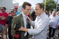 PACTOS GOBIERNO - Pablo Casado se muestra optimista ante un posible acuerdo con PSOE y C's