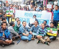 Morcha junks teacher protest