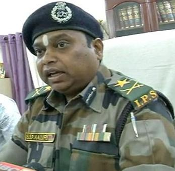 Bastar's IG Kalluri transferred; absolved of charges