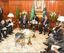 Sharif, Turkmen president discuss regional connectivity projects