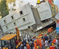 Bengaluru: Under-construction building collapses in Kasavanahalli, 3 killed
