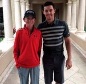 Tom (13) to tee it up with Rory in dream come true for a star of the future