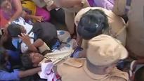 SEE PICS: Chennai cops evict students protesting NEET girl Anitha's suicide at Jayalalithaa's memorial
