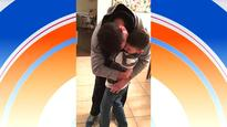 'Divine intervention': Pilot surprises son by captaining flight back from deployment