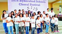 Songs of harmony: Over 200 students perform in city fest