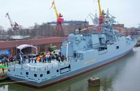 Russian Navy receives first Admiral Grigorovich-class frigate
