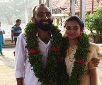 Malayalam actress Gauthami Nair ties the knot with director of her debut film Srinath Rajendran