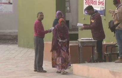 Re-polling begins at six booths in Gujarat