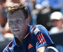 Czechs to miss Tomas Berdych in Davis Cup against Australia