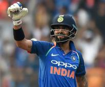 Mumbai ODI: Kohli blitzkrieg guides India to 280 vs New Zealand