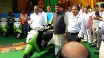 India Gears Up For CNG in two wheelers; Dharmendra Pradhan  and  Prakash Javadekar launch Pilot Programme