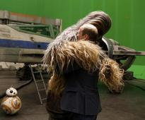 Taj done, Prince William and Harry visit the Star Wars sets, hug Chewie