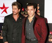 Shah Rukh Khan, Salman Khan, Rekha TOWER at Star Screen Awards
