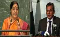 Sushma Swaraj disowned UN resolutions in speech: Pakistan