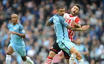 Updated: Mourinho humilited; Man City winless run reaches five games with Southampton draw