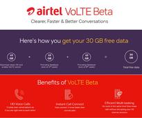 Airtel VoLTE Beta program offers 30GB free data, here's how to get it