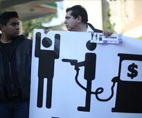 The pain Mexicans are feeling at the gas pump is spreading to their stomachs