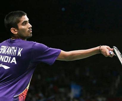 Syed Modi badminton: Srikanth, Kashyap enter quarters; Sindhu loses