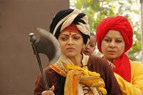 Drashti Dhami's fiery Jhansi Ki Rani style combat in Ek Tha Raja Ek Thi Rani