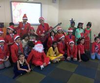 Indus Valley World School celebrates Christmas with underprivileg...