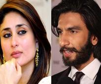 Kareena Kapoor Khan keeps Ranveer Singh at an arm's length!