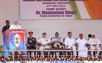 Manmohan lays foundation stone for first defence university