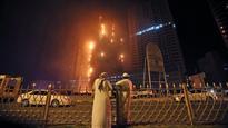 UAE: Fanned by strong wind, fire engulfs skyscraper in Ajman