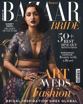 Smokin' hot! Like Shraddha's sexy bridal cover?