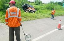 Four of a family killed as SUV hits tanker