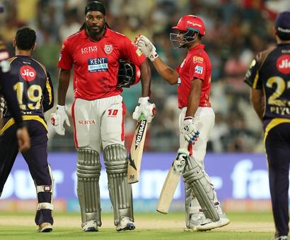 PHOTOS: Gayle, Rahul smash hit as Kings rule over Knights