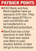 Bank trio get back Essar cash
