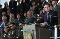 Colombian defense minister promotes 227 officers of police