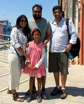 Spotted: Anurag Kashyap in Italy