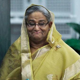 Bangladesh PM Hasina re-elected Awami League chief