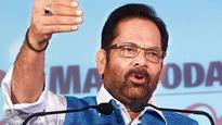 Naqvi takes a dig at Congress over Mani Shankar Aiyar's 'neech' remark against PM Modi