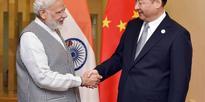 PM Narendra Modi meets with President of China Xi Jinping